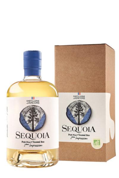 Edition limitée du Pur malt tourbé bio de la Distillerie du Vercors