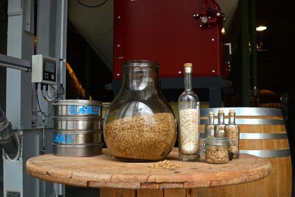 Le local à grain de la Distillerie du Vercors, par Angela Bolis
