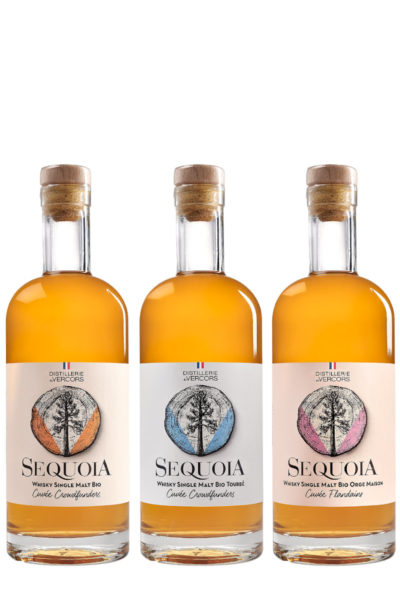 Cuvées Crowdfunders Séquoia - Distillerie du Vercors