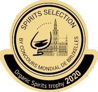 Tophée de la Révélation Organique du Concours Mondial de Bruxelles 2020