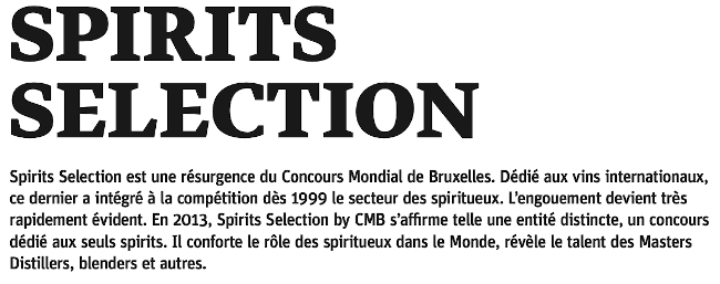 Beef Magazine Spirits Selection