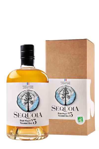 Sequoia Pur Malt Tourbé N°3 de la Distillerie du Vercors