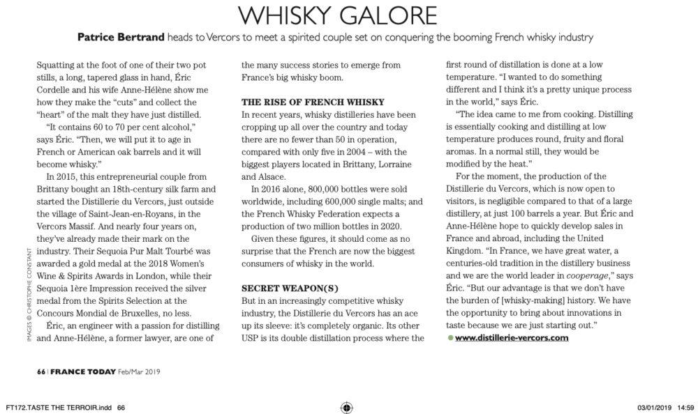Whisky Galore par France Today